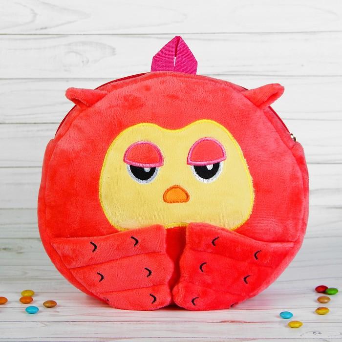 Мягкий рюкзак «Совунья», цвет розовый