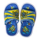 Сланцы детские пляжные арт. BB35001, цвет Желто/голубой, размер 26