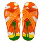 Сланцы детские пляжные арт. BC6-53819, цвет Оранжевый, размер 33
