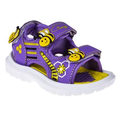 Сандалии детские арт. SB8-1594, цвет фиолетовый, размер 24
