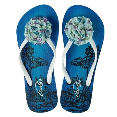 Сланцы женские пляжные арт. BL40201, цвет синий, размер 37