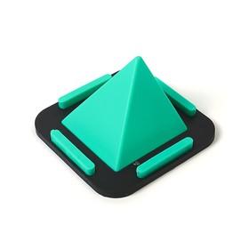 Подставка для телефона Пирамидка, резина, микс