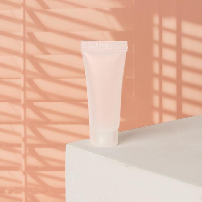 Туба для хранения, 10мл, цвет белый
