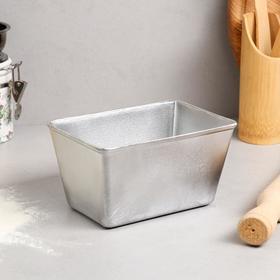 """Форма для выпечки хлеба """"Бородинская"""", 17х12х9 см, литой алюминий"""