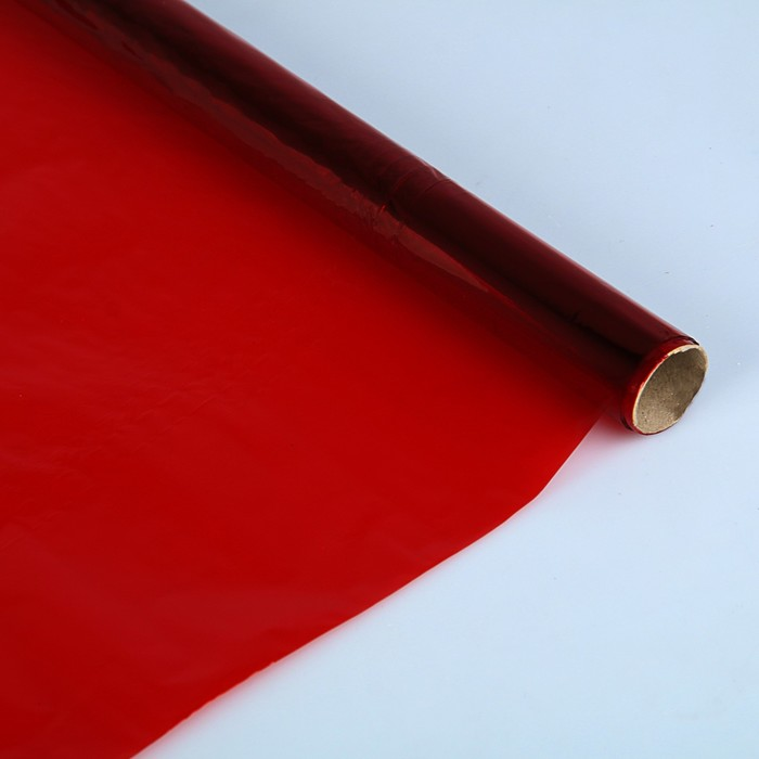 Бумага целлофановая 500*2000 мм Sadipal 30 г/м² красный 6163