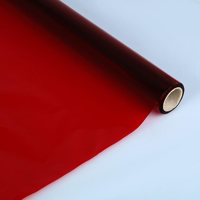 Бумага целлофановая 500*650 мм Sadipal (25л) 30 г/м² красный 12501