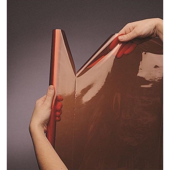 Бумага цветная, прозрачная, (целлюлоза 100%), 500 х 650 мм, Sadipal, (25 листов в рулоне), 30 г/м², оранжевый - фото 370879494