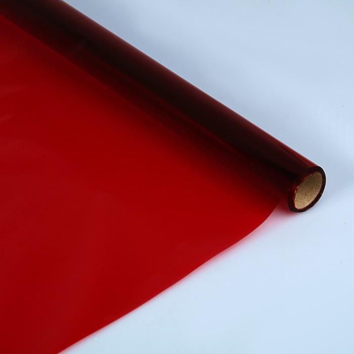 Бумага целлофановая 700*1000 мм Sadipal (25л) 30 г/м² красный 6401