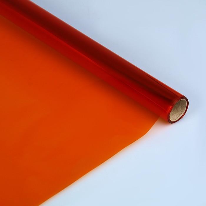 Бумага целлофановая 700*1000 мм Sadipal (25л) 30 г/м² оранжевый 6406