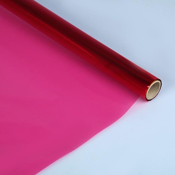 Бумага целлофановая 700*1000 мм Sadipal (25л) 30 г/м² розовый 6404