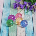"The ball rubber ""Shine"" 2.5 cm MIX color"