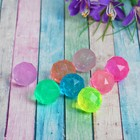 Ball rubber crystal 2.5 cm, MIX colors