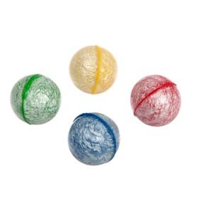 Мяч каучук 'Цветной' 2,5 см, цвета МИКС Ош