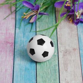 Мяч каучук 'Футбол' 3,3 см, цвета МИКС Ош