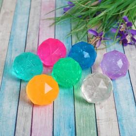 Мяч каучук 'Кристал' 4 см, цвета МИКС Ош