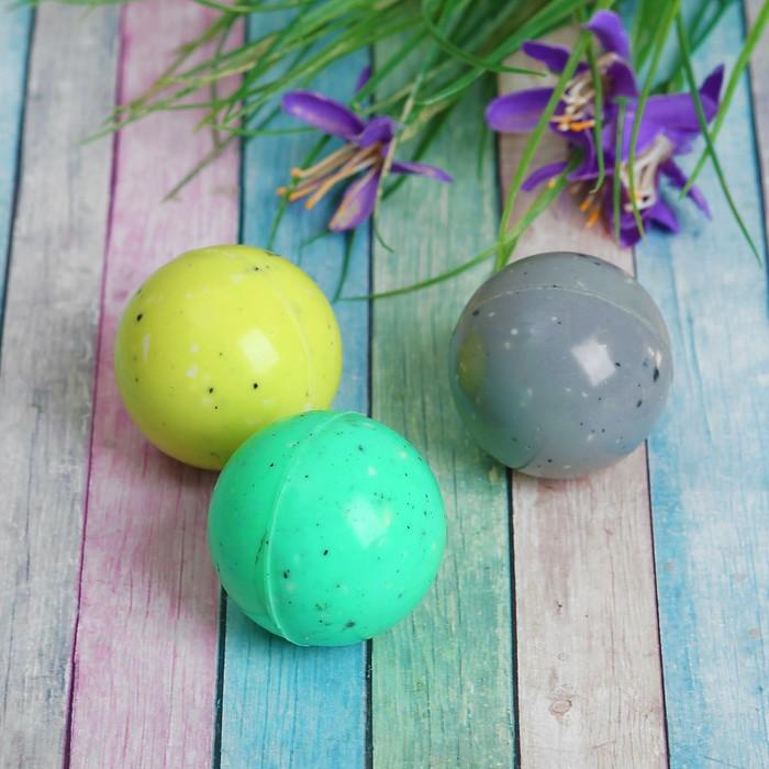 Мяч каучуковый «Крапинки», 4,1 см, цвета МИКС