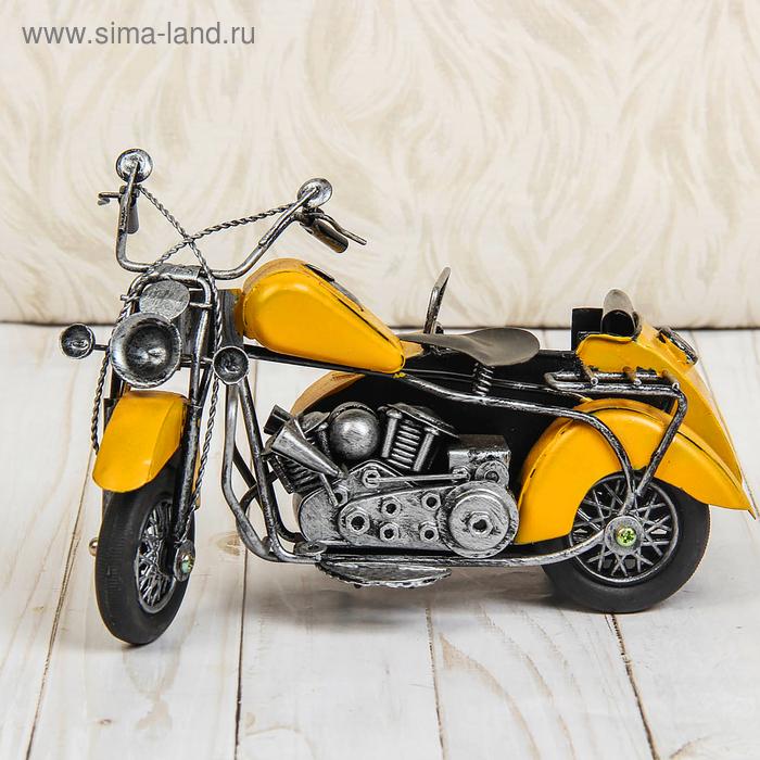 """Сувенир """"Мотоцикл с коляской"""", МИКС"""