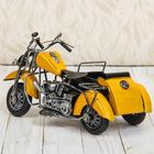 """Сувенир """"Мотоцикл с коляской"""", МИКС - фото 873333"""
