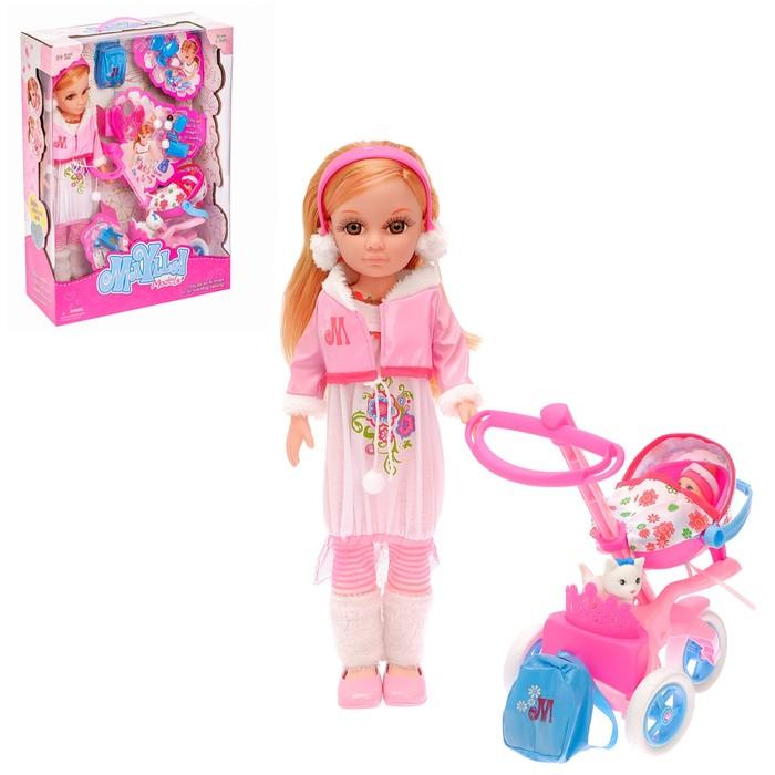 """Кукла """"Мамочка"""" с коляской, малышом и аксессуарами"""