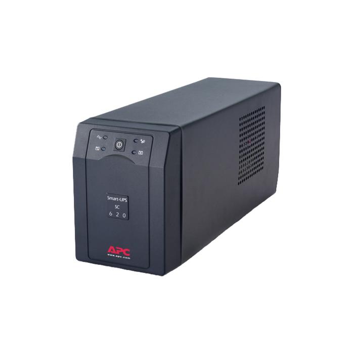 Источник бесперебойного питания APC Smart-UPS SC620I, 390 Вт, 620 ВА, черный