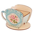 "Чайный домик ""Чашка с розами"" 8х8,5х9см"