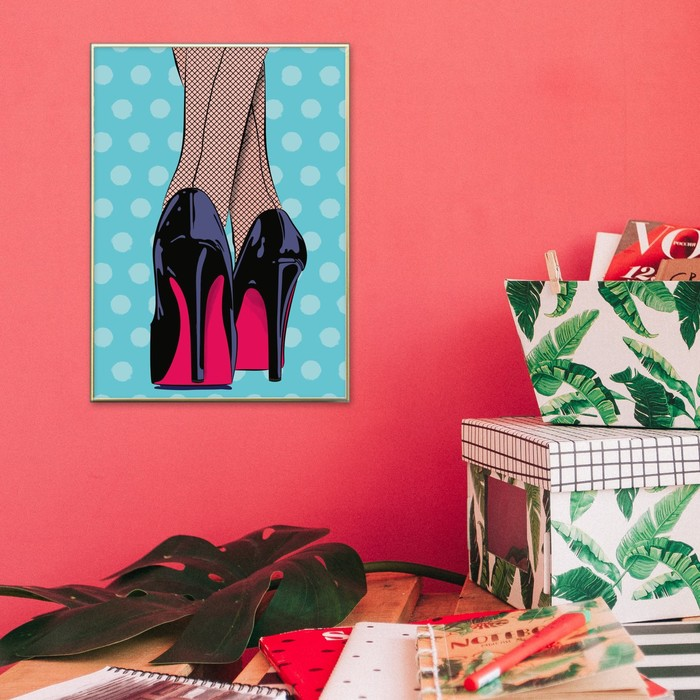 Постер А3 интерьерный «Гламур», 29 х 42 см
