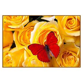 Алмазная мозаика «Букет роз», 19 цветов