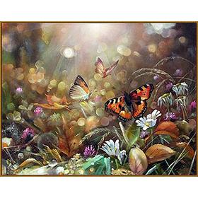 Алмазная мозаика «Волшебное утро», 25 цветов