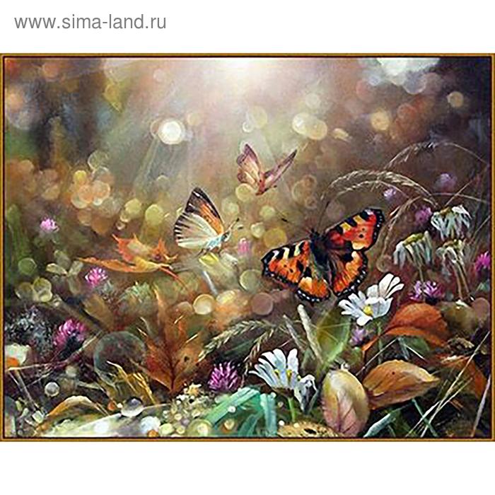 """Алмазная мозаика """"Волшебное утро"""", 25 цветов"""