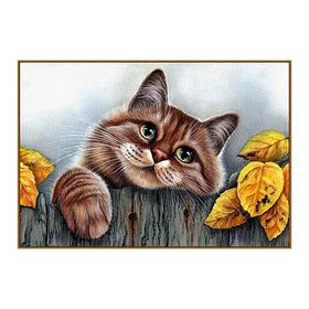 Алмазная мозаика «Рыжий кот», 31 цвет