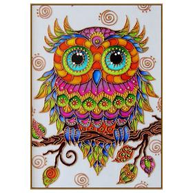 Алмазная мозаика «Совушка», 28 цветов