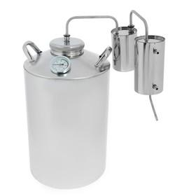 Дистиллятор, 25 л «Разборный», горло 10 см, термометр