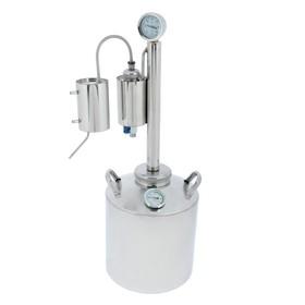 Дистиллятор «Лидер-3», 16 л, разборный сухопарник со сливом, термометр