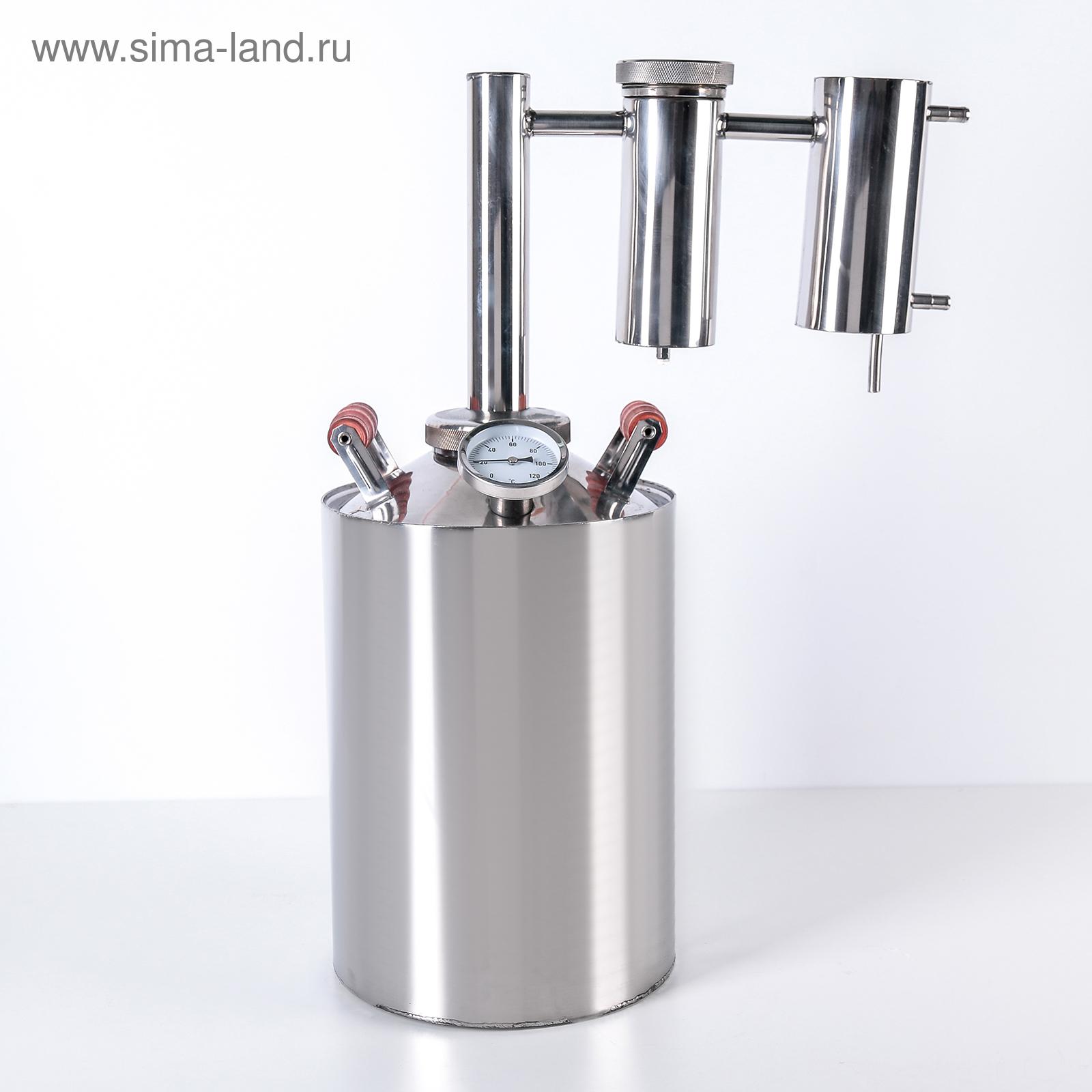 Самогонный аппарат магарыч колонна 12л замер температуры в самогонном аппарате
