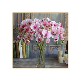 Алмазная мозаика «Орхидеи в вазе», 36 цветов