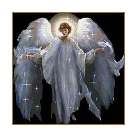 Алмазная мозаика «Ангел», 41 цвет