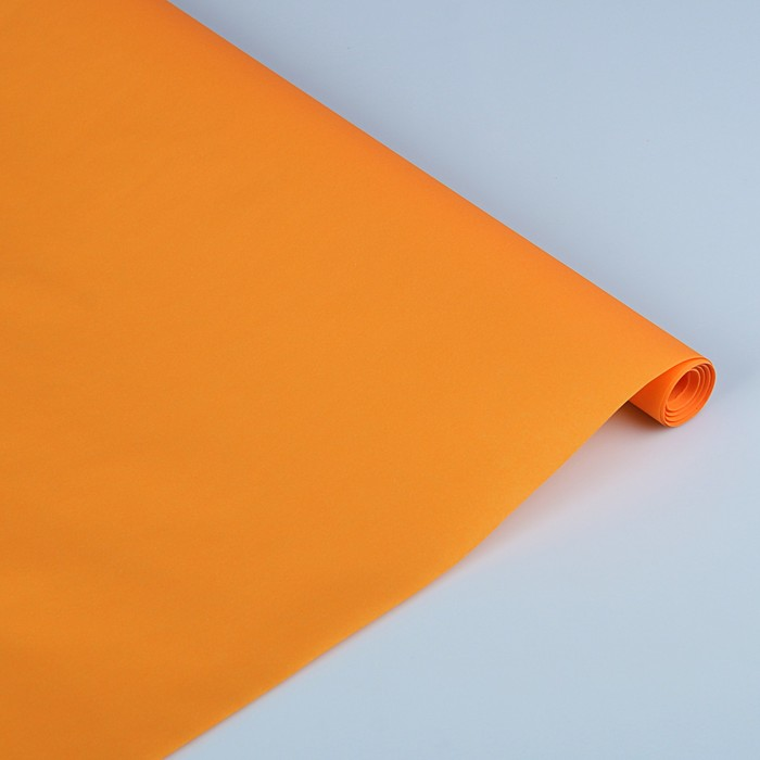 """Пергамент флористический """"Оранжевое солнце"""", 0,5 х 10 м, 58 г/м2"""