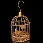 """Клетка шестиугольная """"Бабочки"""", 14,5х23см, золотистая"""