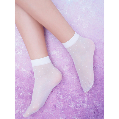 Носки детские, цвет белый, размер универсальный