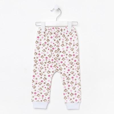 Штанишки для девочки, цвет МИКС, короткие, рост 80 см