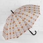 """Umbrella semi-automatic """"Piano"""", 10 spokes, R = 51 cm, the color is """"khaki"""""""