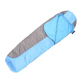 Спальный мешок кокон 200, 220х75, 0/+20С, бязь/Taffeta 190, термофайбер, СК2