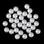 Beads for nail art decoration, 4mm, color pearl