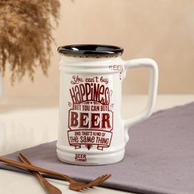 """{{photo.Alt    photo.Description    'Бокал """"Beer"""", прямой, белый, 0.6 л'}}"""