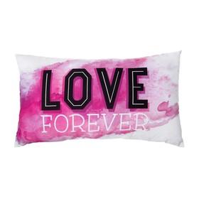 Подушка декоративная 'Этель' Love Forever 40х70 см, 100% хлопок, синтепух Ош