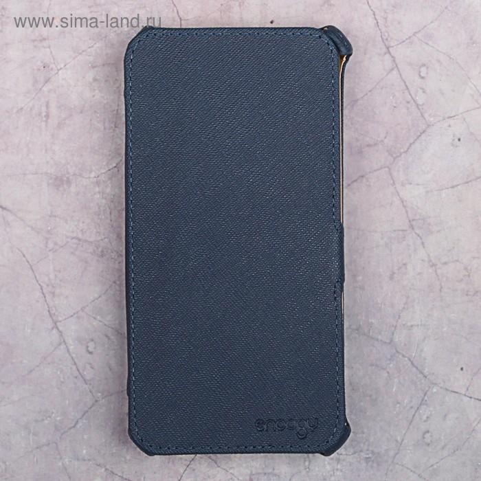 Чехол-книжка Snoogy для Xiaomi Redmi 4А, иск. кожа, Синий