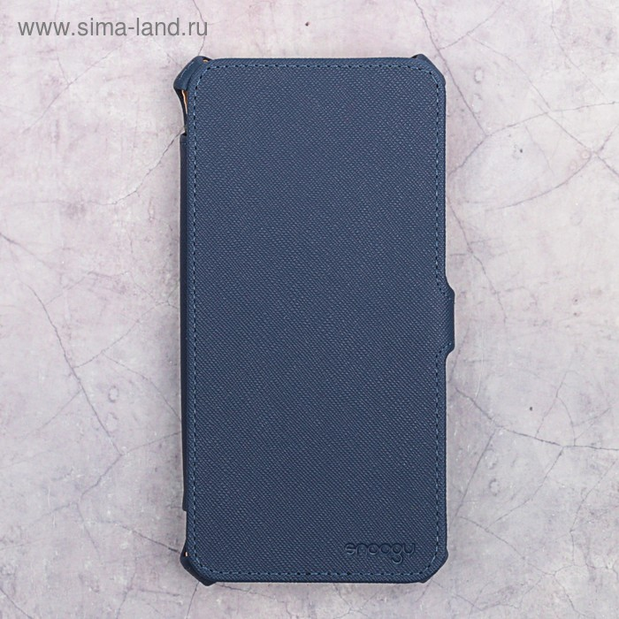 Чехол-книжка Snoogy для Xiaomi Redmi Note 5A, иск. кожа, Синий