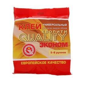 Клей обойный Quality, универсальный, мягкая упаковка, 150 г