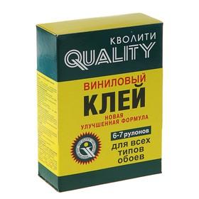 Клей обойный Quality, виниловый, коробка, 200 г