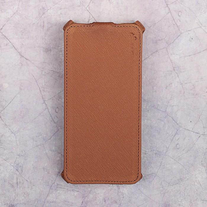 Чехол-флип Snoogy для Xiaomi Mi 5S, иск. кожа, Коричневый